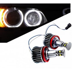 Kit ojos de angel en LED 20W para BMW 2007/2011 - Tipo 6