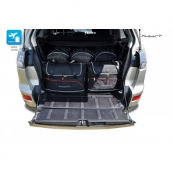 Kit suitcases for Mitsubishi Outlander II (2006-2012)