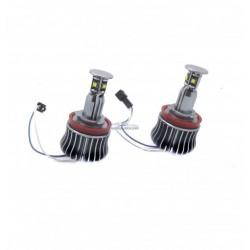 Kit occhi di angel a LED 20W per BMW 2007/2011 - Tipo 6