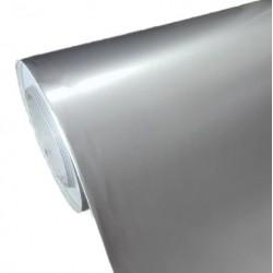 Vinilo Plata Brillo 25x152cm