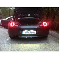 Plafones LED de matricula BMW Z4 E85 y E86 (2004-2009)