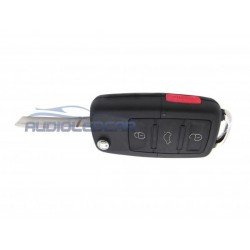 Capa para chave Skoda com botão PÂNICO