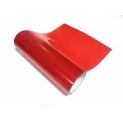 red vinyl headlights