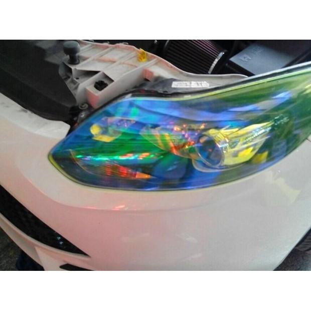Vinyl headlights and pilots chameleon