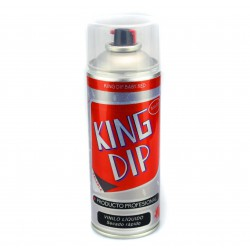 King DIP® do vinil líquido preto Matt