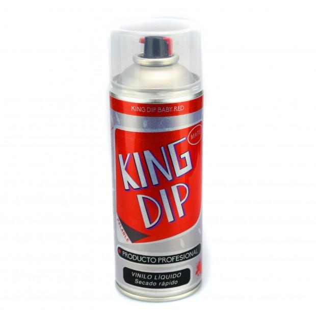 King DIP® liquide vinyle noir Matt