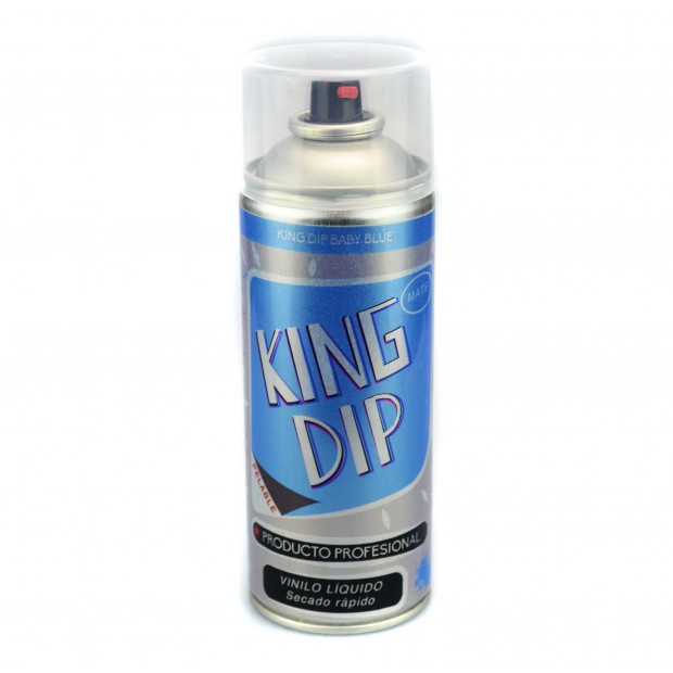 King Dip® Vinilo Líquido azul