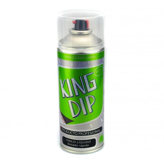 Liquide bleu mat de King DIP® vinyle