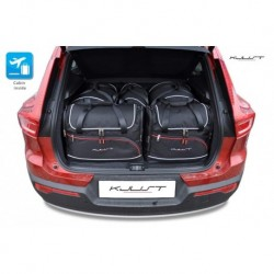 Kit suitcases for Volvo Xc40 I (2017-)