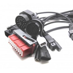 Pack of cables and adapters Multi-brand CAR