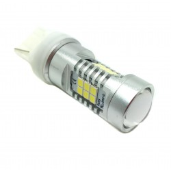 Bulbo claro do diodo EMISSOR de luz T20 W21W Âmbar CANBUS - TIPO 82