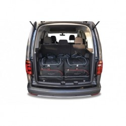 Kit bags for Volkswagen Caddy Iv (2015-) 5 seats