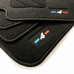 Alfombrillas para BMW Serie 4 F32 acabado M (2013-2015)