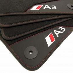 Os tapetes de Couro Audi A3 8P (2003-2011)