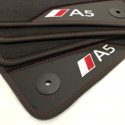 Os tapetes de Couro Audi A5 8T (2007-2014) sportback