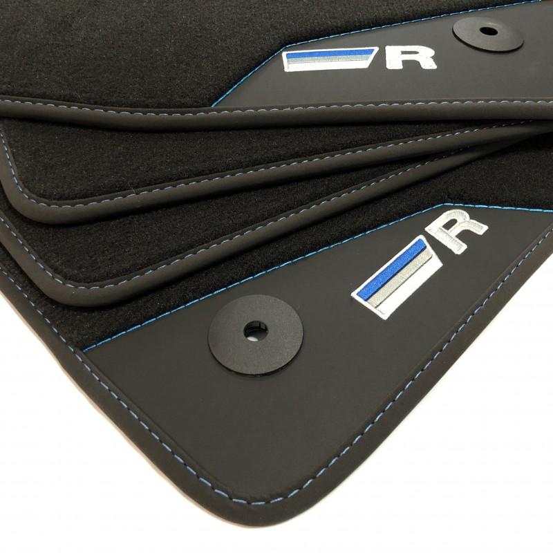 Floor Mats, Leather Volkswagen Golf 5, R32