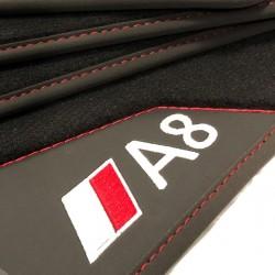Os tapetes de Couro A8 D3/4E (2003-2010)