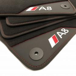 Floor mats, Leather A8 D3/4E (2003-2010)