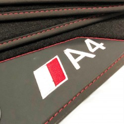 Os tapetes de couro Audi A4 B5 (1994-2001)