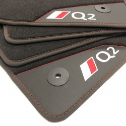 Floor mats, leather Audi Q2 (2017-present)