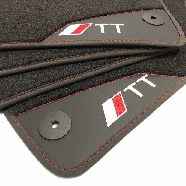 Floor mats, Leather TT MKII