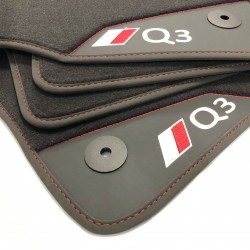 Floor Mats, Leather-Q3