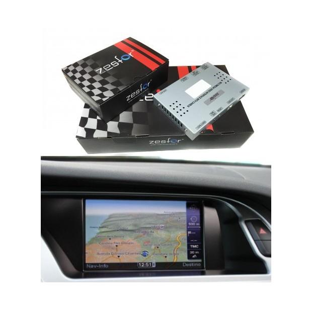 Navegador Audi A4 B8 2009 2015 Zesfor Audioledcar