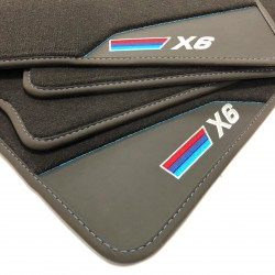 Floor mats, Leather-BMW X6 E71