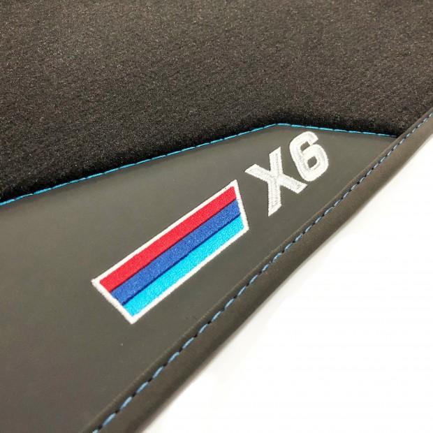 Floor mats, Leather-BMW X6 E71