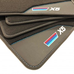 Floor mats, leather-BMW X5 E53 (1999-2006)
