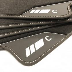 Fußmatten Leder-Mercedes C-Klasse W203
