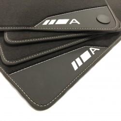 Floor Mats, Leather-Mercedes A-Class