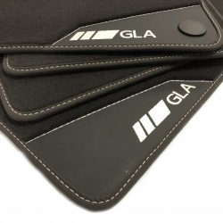 Floor mats, Leather Mercedes GLA