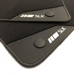 Floor mats, Leather Mercedes SLK R171 (2004-2012)