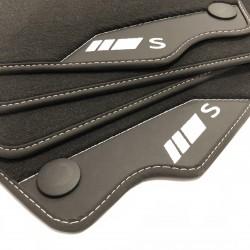 Floor mats, Leather Mercedes S-Class W221 short