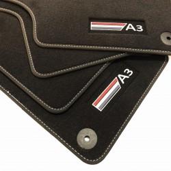 Floor mats, premium Audi A3...