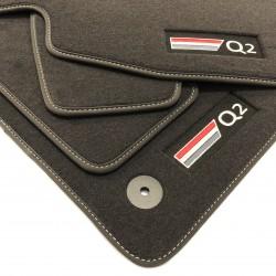 Floor mats, premium Audi Q2 (2017-present)