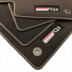 Floor mats, premium Audi Q3 F3 (2019-present)