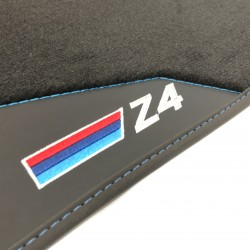 Le stuoie del pavimento, in Pelle BMW E85