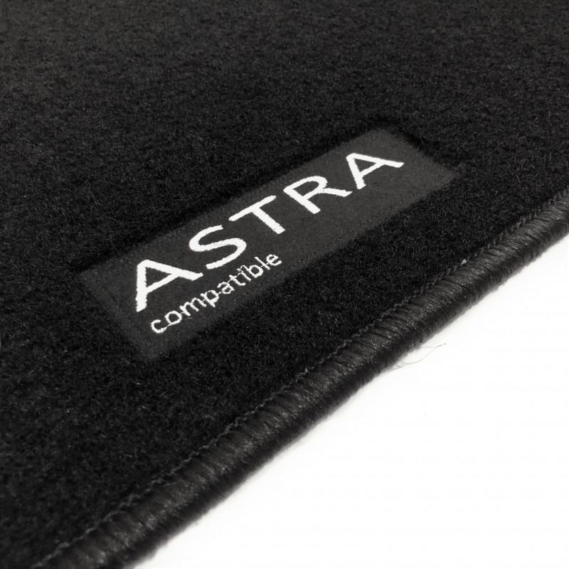 Walser XTR Tapetes de Goma Alfombrillas para Coche Compatible con Opel Astra J A/ño de fabricaci/ón 2009-2015