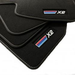 Floor mats, premium BMW X2...