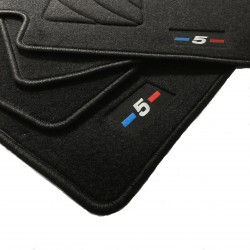 Mats for BMW 5-Series E39 finish M (1995-2003)