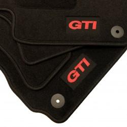 Tapetes para Volkswagen Golf 6 acabamento GTI (2009-2013)