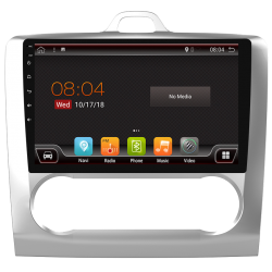 """GPS system touch for Ford Focus with climate control (2007-2011). Android 9"""""""