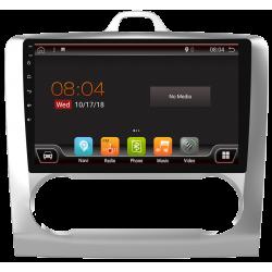 """Système GPS tactile pour Ford Focus avec contrôle de température (2007-2011). Android 9"""""""