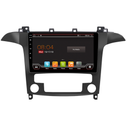 """Système GPS tactile pour Ford S-Max (2007-2018), Android 9"""""""