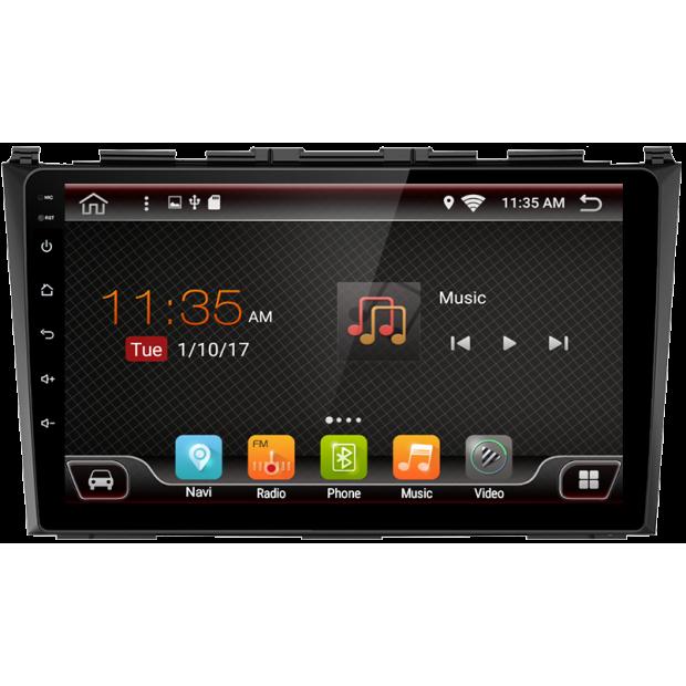 "GPS navigation touchscreen for Honda CR-V (2007-2011), Android 9"""