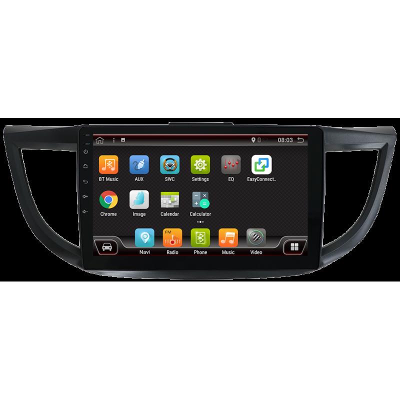 """De navigation GPS à écran tactile pour Honda CR-V (2012-2015), Android 10,1"""" (Canbus, 2015)"""