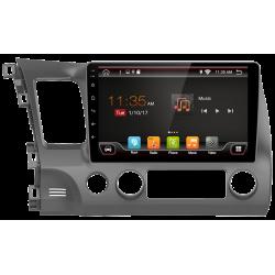 "GPS-navigator mit touchscreen für Honda Civic (2006-2012), Android 10,1"""