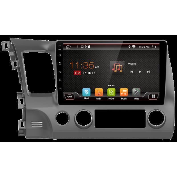 """De navigation GPS à écran tactile pour Honda Civic (2006-2012), Android 10,1"""""""